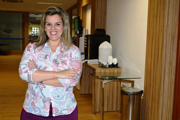 Tathiana Udre, gerente da Unidade de Educação e Empreendedorismo do Sebrae/RN