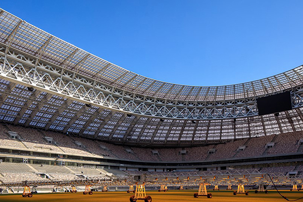 A Seleção Brasileira enfrentará a Rússia no moderno estádio Luzhniki, na capital Moscou. Local terá a abertura e a final do Mundial