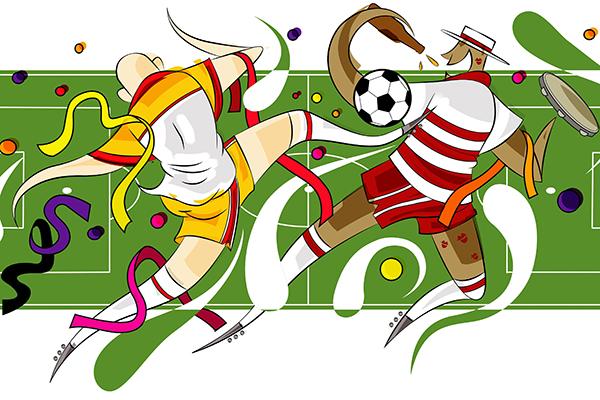 Mudança de cultura no mundo do futebol tem afastado cada vez mais os jogadores de festas como o carnaval. Hoje, o calendário e a preparação física são impeditivos