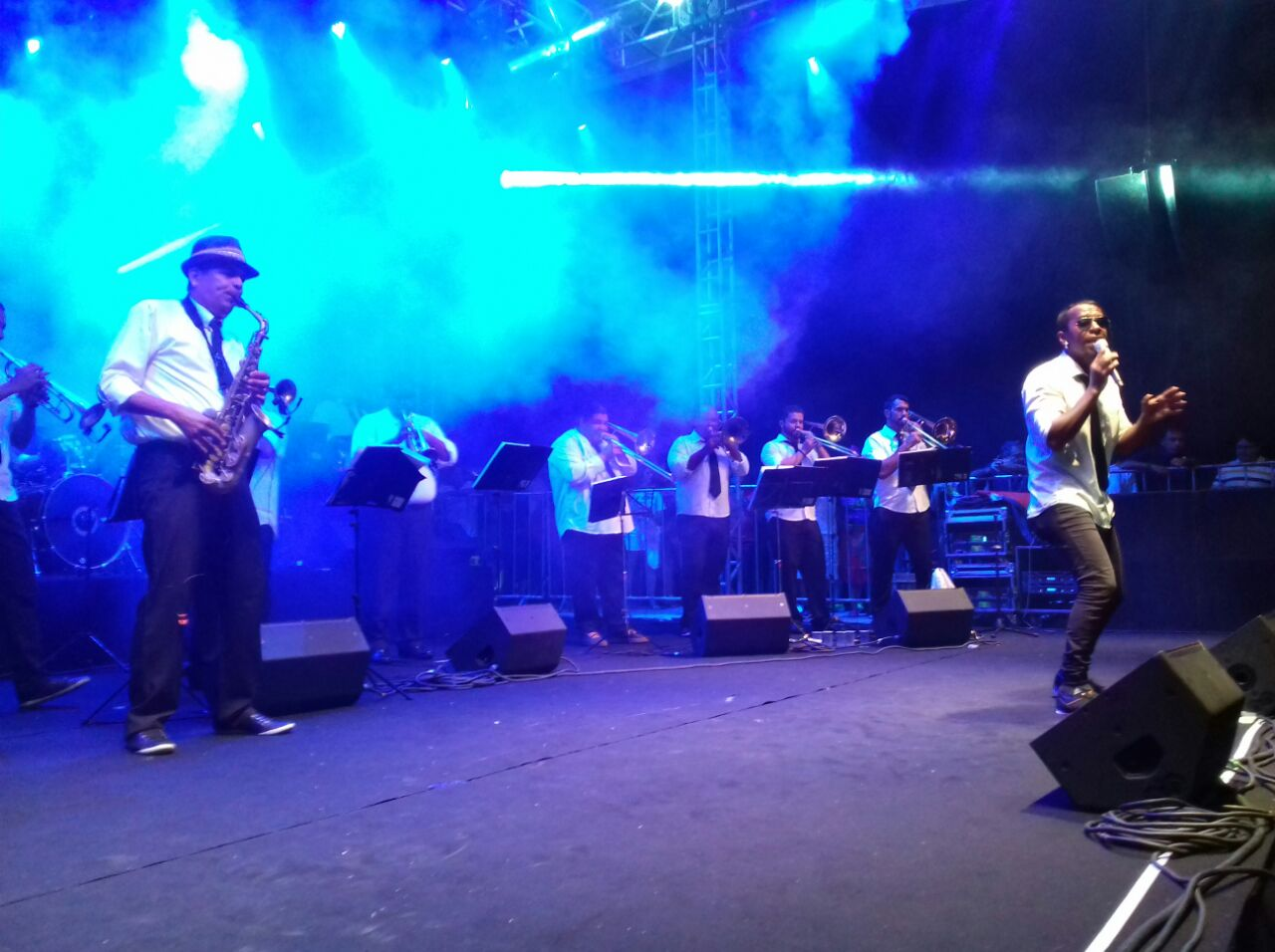 Spok Frevo foi atração principal em Carnaval de Ponta Negra