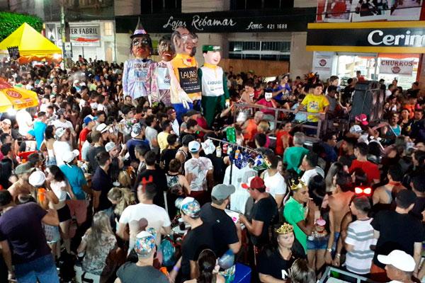 Bloco do Magão anima foliões no Carnaval de Caicó