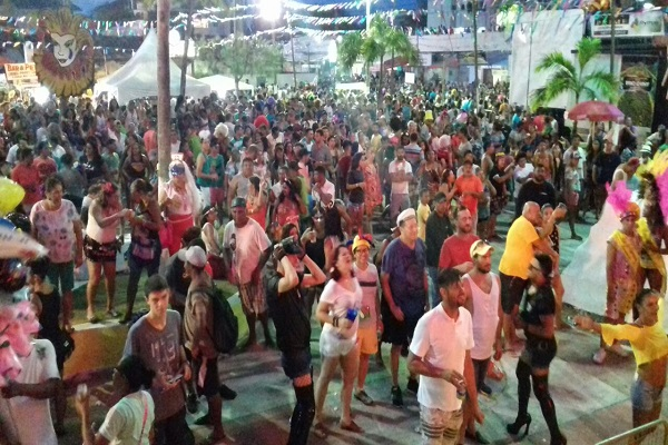 Bloco das Virgens no carnaval de Pirangi