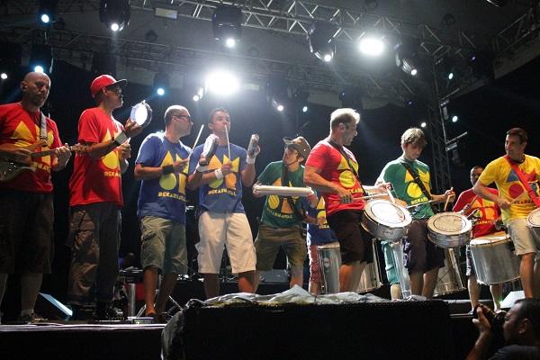 Show grupo Monobloco em Ponta Negra