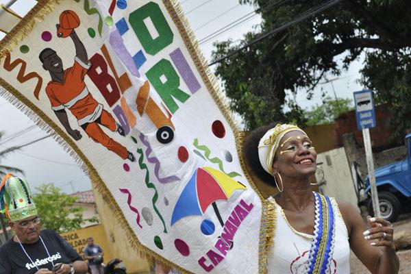 Ana Cristina Santo é a porta-estandarte do bloco este ano