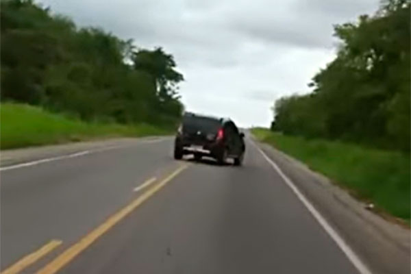 Motoristas denunciaram direção perigosa de condutor