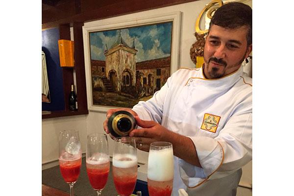Chef Gabriel Camilo sugere uma noite de espumantes brasileiros