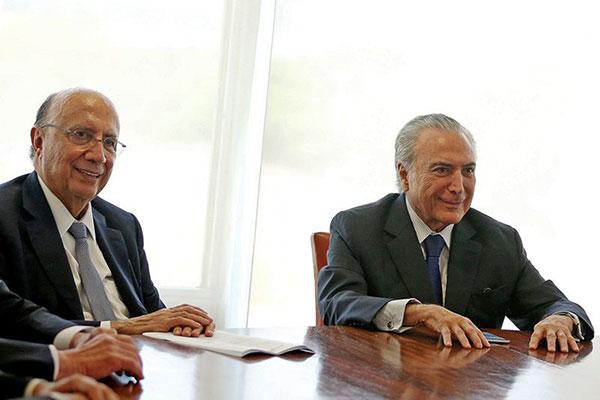 Pezão e interventor discutem uso de verba para segurança do RJ
