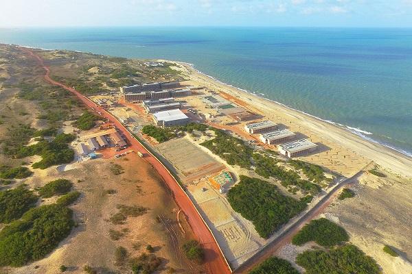 Construção de Resort em Touros está adiantada e deve ser concluído em setembro