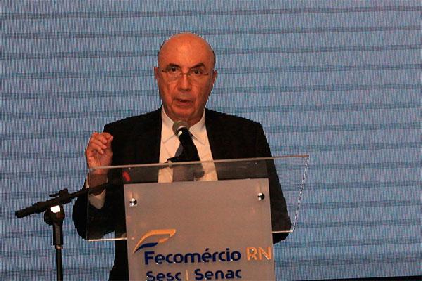 Palestra do ministro Henrique Meirelles