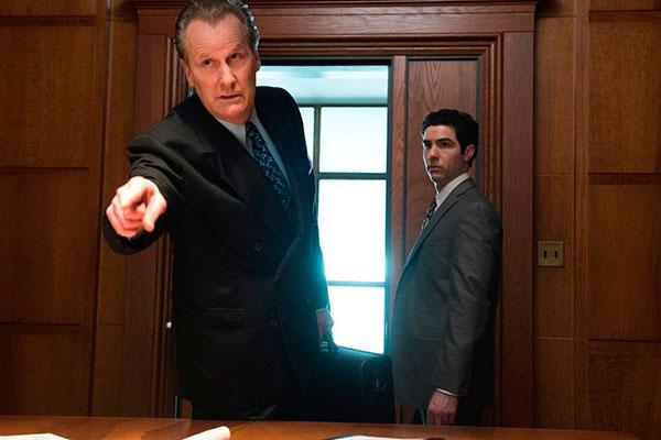 Personagens reais: Jeff Daniels como o agente do FBI John O'Neill e Ali Soufan, de Tahar Rahim