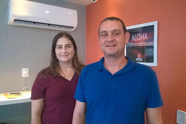 Thiago Naif e Ana Karina Galvão. Eles conheceram a culinária poke quando visitaram a Califórnia
