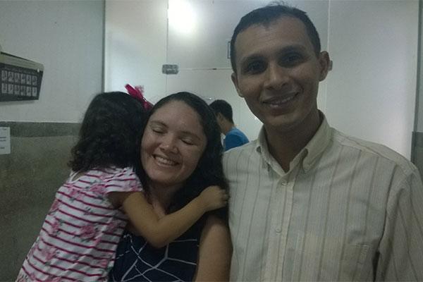 Antes do processo, Josielma e Marcelo haviam tentado por dois anos. Com fertilização, veio Ana Vitória