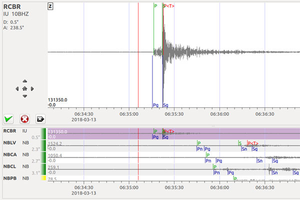 Abalo sísmico de 2.6 graus foi o maior registrado nesta sequência de atividades