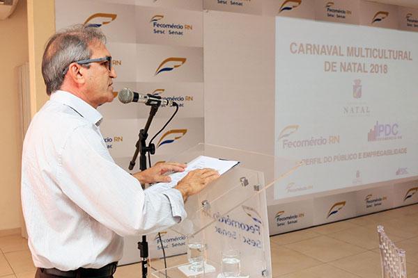 Marcelo Queiroz apresenta números e destaca importância da pesquisa para o planejamento do comércio e do poder público