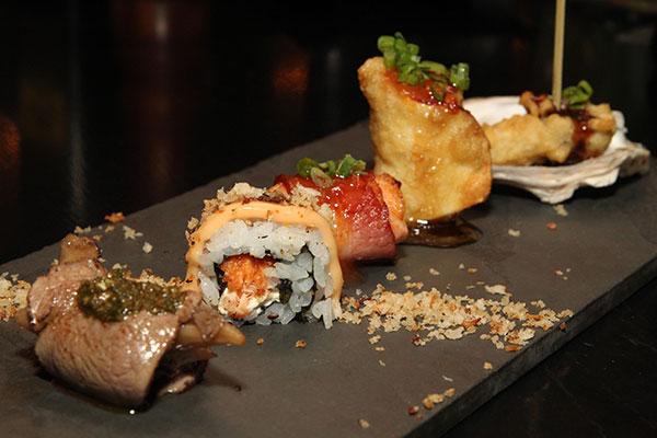 Combinação de sushis traz sabores inusitados