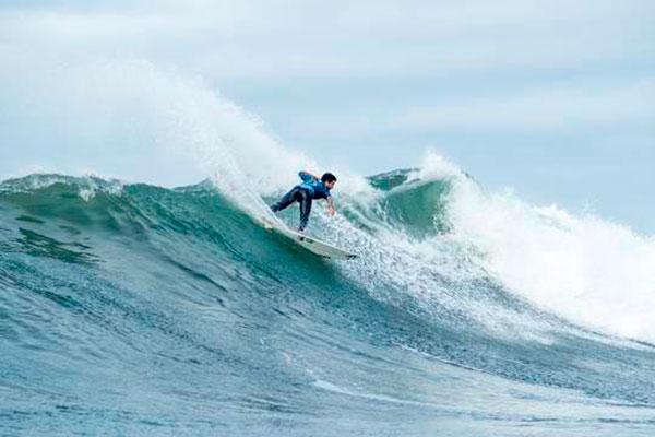 O surfista potiguar venceu a etapa em Bells Beach