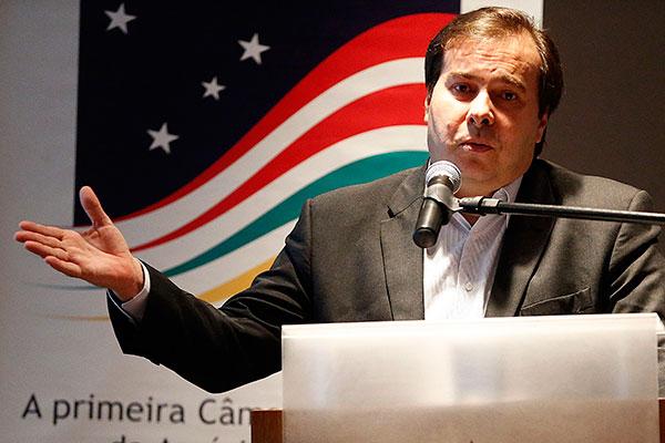 Rodrigo Maia tem dificuldade para assegurar uma candidatura competitiva do DEM no Rio de Janeiro