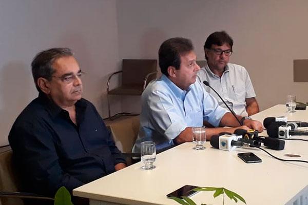 Carlos Eduardo confirmou renúncia e Álvaro Dias assume Prefeitura do Natal