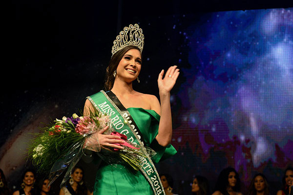 Monique Sandrelly Rêgo é a nova Miss Rio Grande do Norte