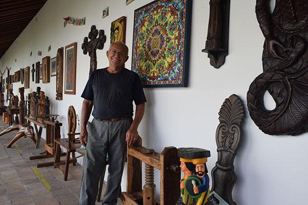 Francisco Francinildo é um dos criadores da galeria Conviv'Art