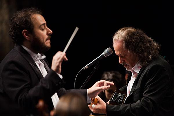 Concerto Valencianas com a Orquestra Sinfônica de Ouro Preto do cantor Alceu Valença vai se apresentar no Teatro Riachuelo