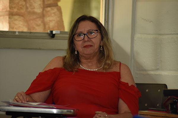 Maria Dalva Horácio, professora do programa de pós-graduação em Serviço Social da UFRN