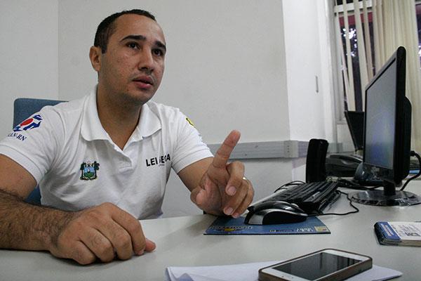 O coordenador da Lei Seca no RN, Isaac Paiva explica intensificação das autuações em 2017