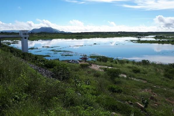 Na Barragem Passagem das Traíras está com 2,87% da sua capacidade