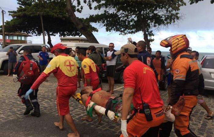 Natalense estava na Praia de Piedade, região metropolitana de Recife.
