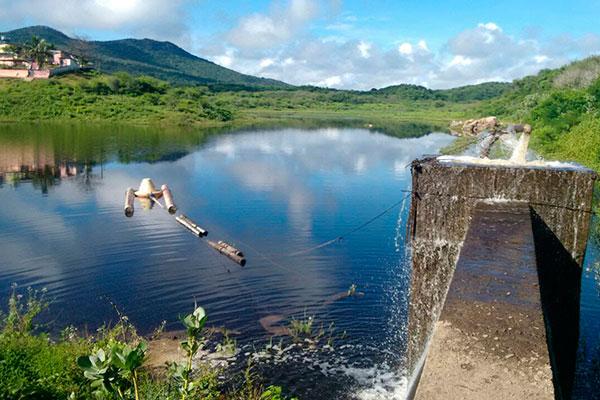 Açude do Pinga (Cerro Corá) ganha água e volta a abastecer a cidade