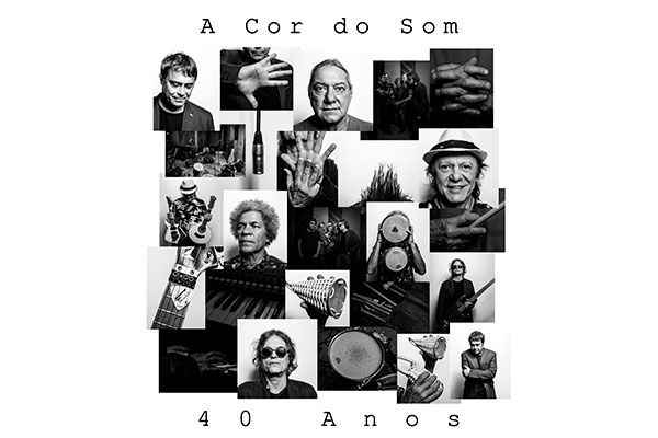 Capa do álbum A Cor do Som