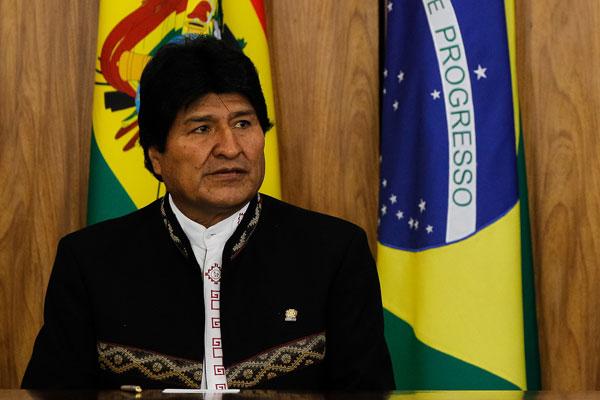 Evo Morales, Presidente do Estado Plurinacional da Bolívia