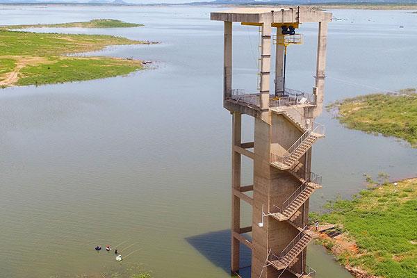 Barragem Armando Ribeiro Gonçalves atingiu no dia 24 de abril 28% de sua capacidade total