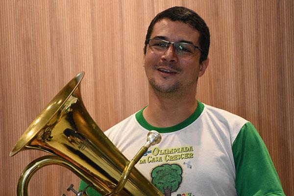 Músico de Cruzeta, Leonardo Tomé é um dos coordenadores
