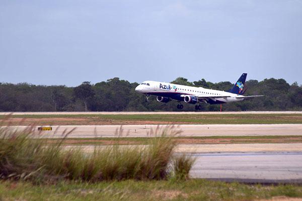 Azul Linhas Aéreas anunciou rotas e horários a partir e para o Aeroporto de Mossoró mês passado; até fim do ano, voos aumentarão