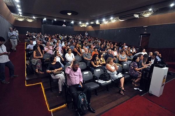 O TCP ficou lotado de produtores e realizadores do audiovisual interessados na capacitação do MinC