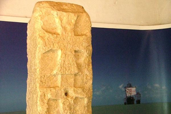 O Marco de Touros é o mais antigo monumento que se tem notícia no Brasil. Atualmente o artefato original está no Forte dos Reis Magos, mas deve retornar ao seu lugar de origem, na Praia do Marco, onde foi fincado em 1501 pelos portugueses para atestar a posse do território