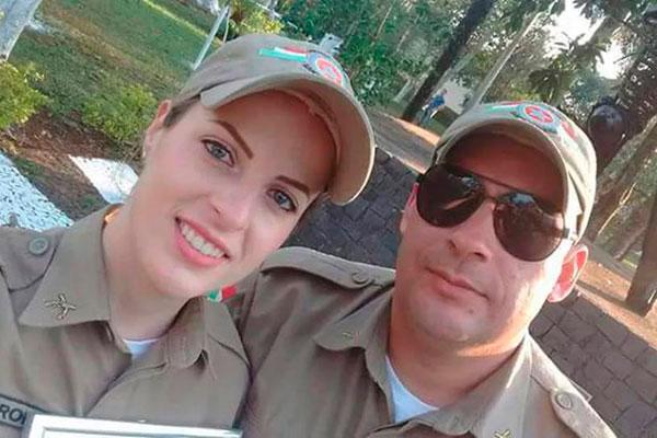 Caroline Pletsch e Marcos Paulo foram vítimas do crime em março de 2018
