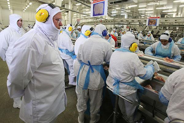 Maggi visitou indústrias, fez propaganda e UE não mudou decisão