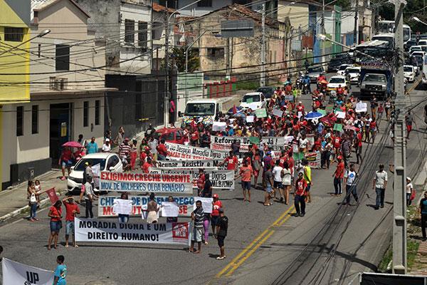 Famílias pediram melhorias de infraestrutura na área do Planalto e construção de mais moradias