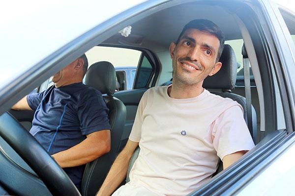 Ruy Freitas, taxista