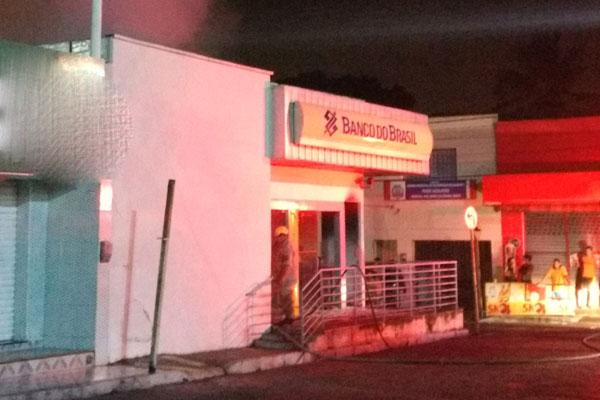 Agência fica no centro de São Gonçalo do Amarante próximo a uma base da Polícia Militar