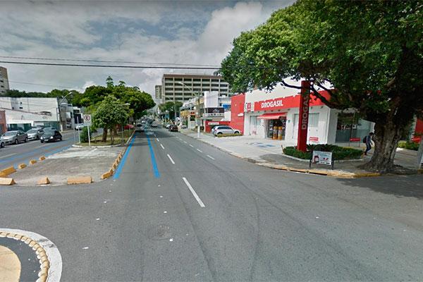 Crime ocorreu na avenida Afonso Pena