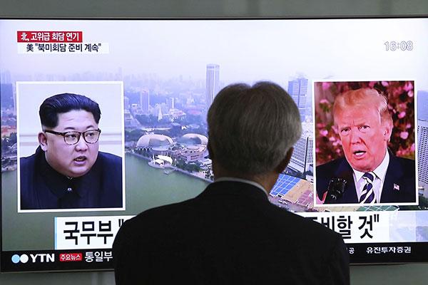 Kim Jong-un ameaçou cancelar encontro com Donald Trump caso exercícios militares continuem