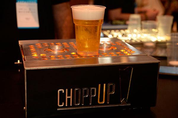 Degustação do ChoppUp