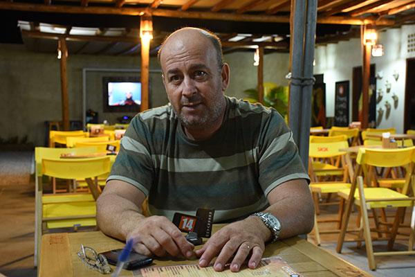Helder Alexandre escolheu Cidade Verde pela carência de bares