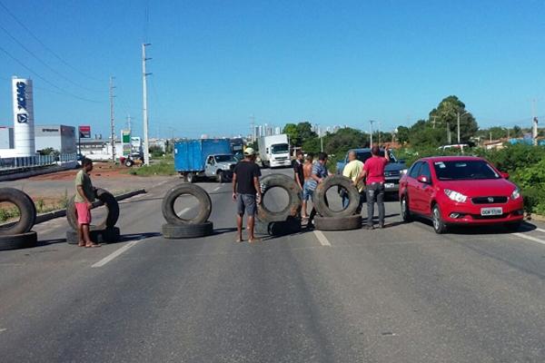 Protesto BR-304