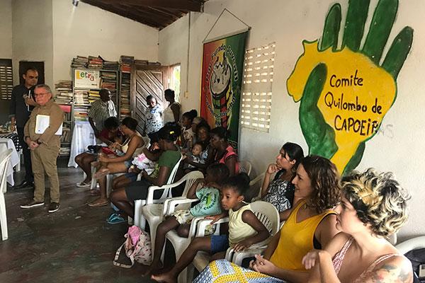 Pela primeira vez, no Rio Grande do Norte, uma dissertação de Mestrado foi apresentada em uma comunidade quilombola