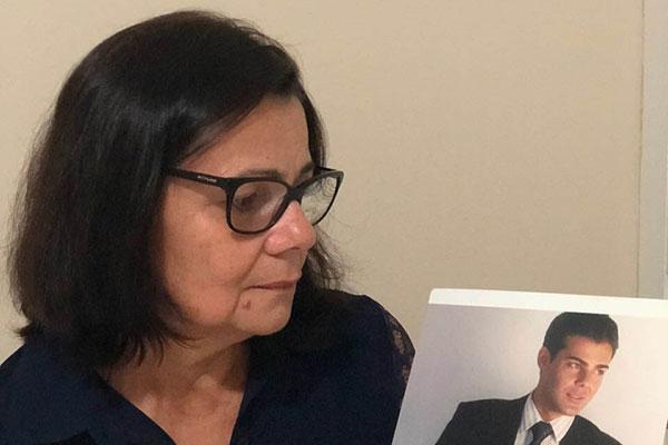 """""""Não mataram só meu filho. Tiraram a minha alegria de viver"""", diz Rita Santos sobre a morte de Rodrigo"""