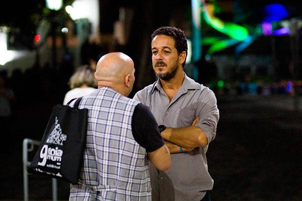 Lula Oliveira, cineasta e curador, está em Natal para acompanhar festival de cinema e trazer a nova produção do cinema baiano